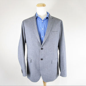 Banana Republic Tailored Fit Sport Coat Gray